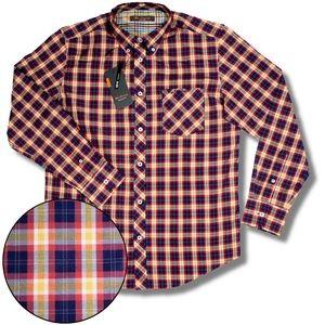 Ben Sherman Union Fit Autumnal Check L/S Shirt